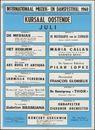 Internationaal Muziek- en Dansfestival, Oostende, Kursaal, juli 1960
