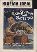 [Il sogno di Butterfly]   De droom van Butterfly, Ideal, Gent, 14 - 20 mei 1943