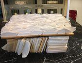 Kunstwerk met boeken van Academie Beeldende Kunst