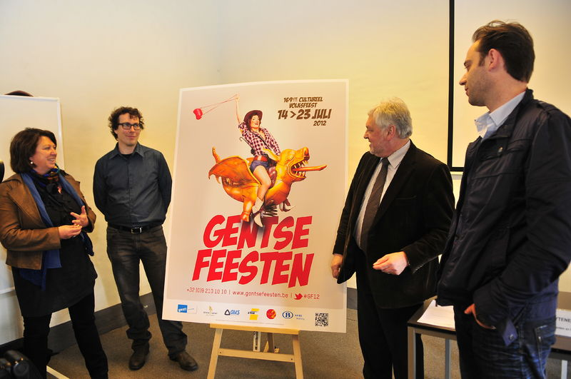 Campagnebeeld Gentse Feesten 2012 13