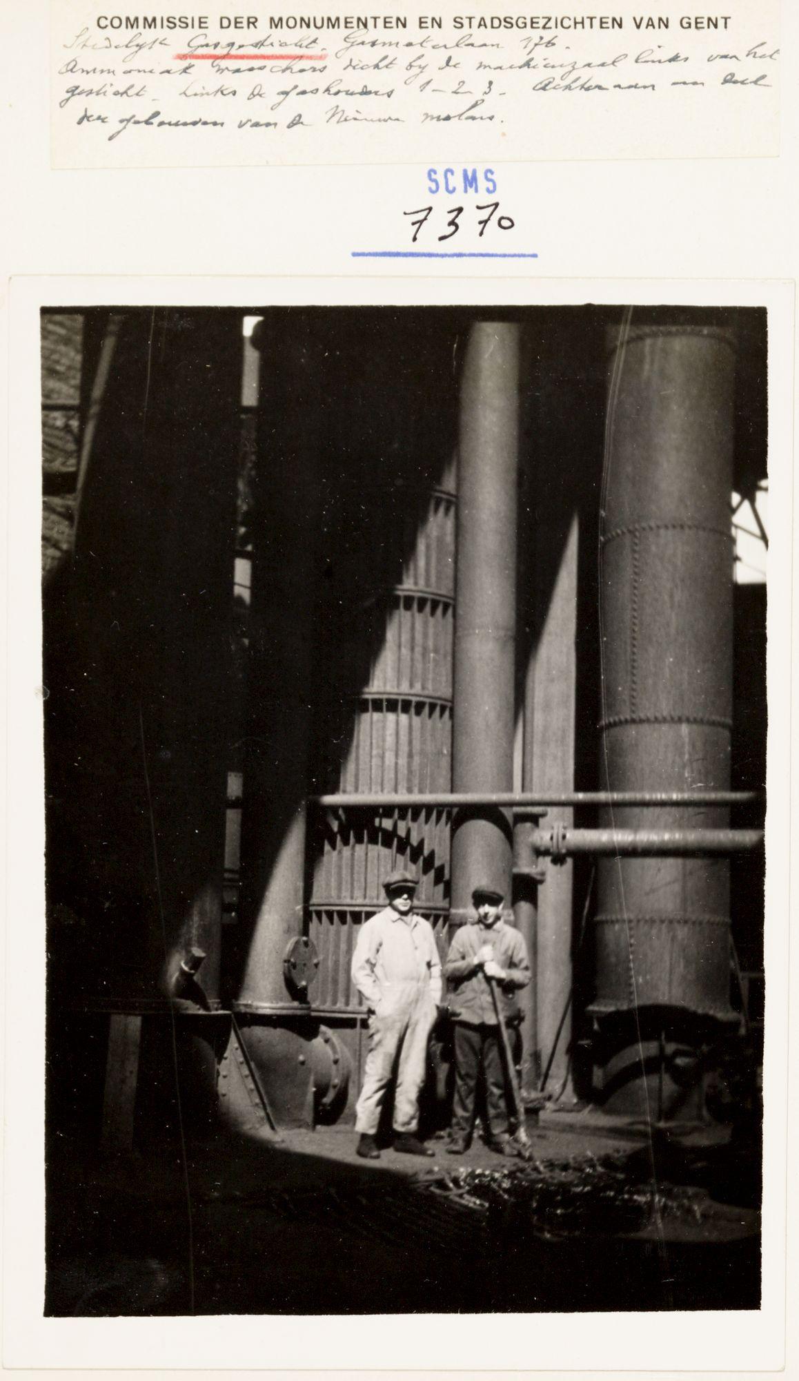 Gent: Stedelijke gasfabriek, Gasmeterlaan