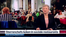Week van de Pollepel 2019 - chefs in restaurant - journaal 19 uur