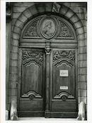 Gent: Burgstraat 24: poort, 1980