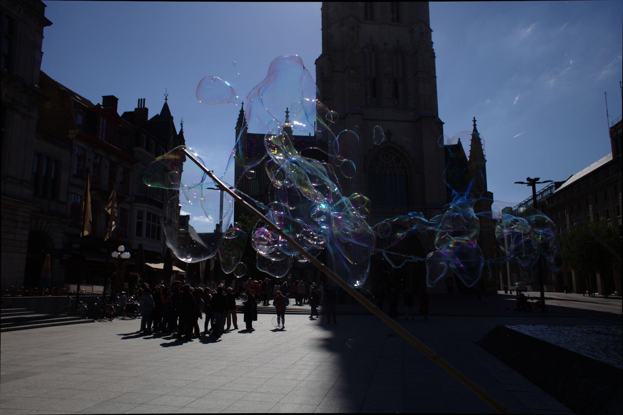 2019-05-14 Stad Gent_St Baafsplein Belfort Zeepbellen_IMG_9840.CR2