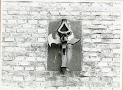 Gent: Gaspar De Craeyerstraat 2: Leopoldskazerne: gevelanker, 1979