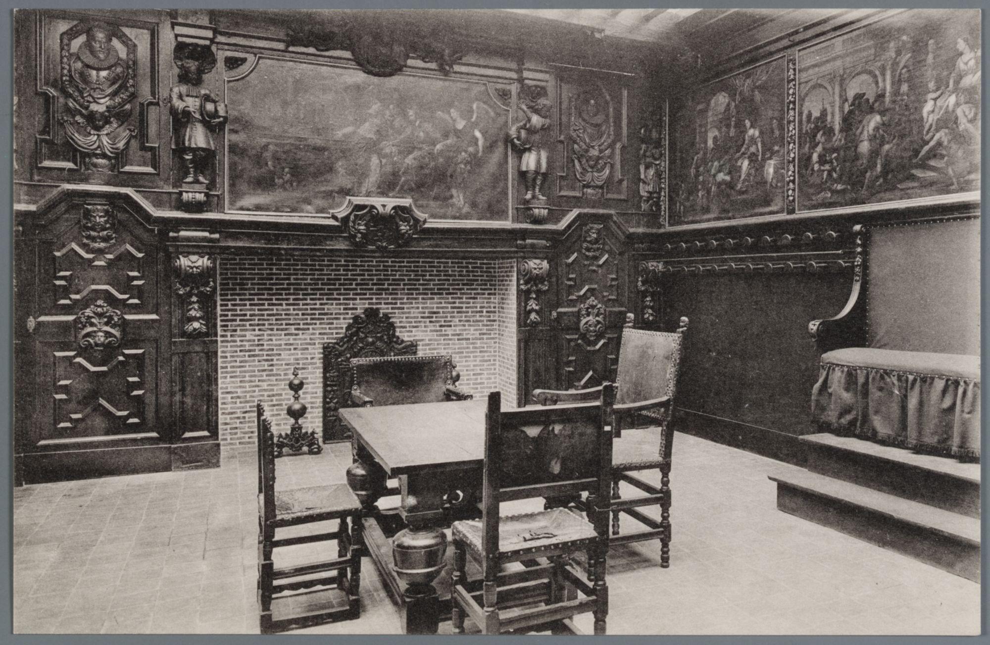 Gent: Wereldtentoonstelling 1913: tentoonstelling Oude Vlaamse Kunst in het Museum voor Schone Kunsten