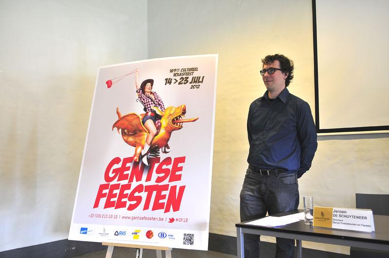 Campagnebeeld Gentse Feesten 2012 15