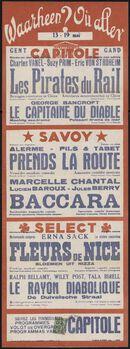 Waarheen? Où aller? Filmvertoningen in Capitole, Savoy, Select, Gent, 13 - 19 april 19..
