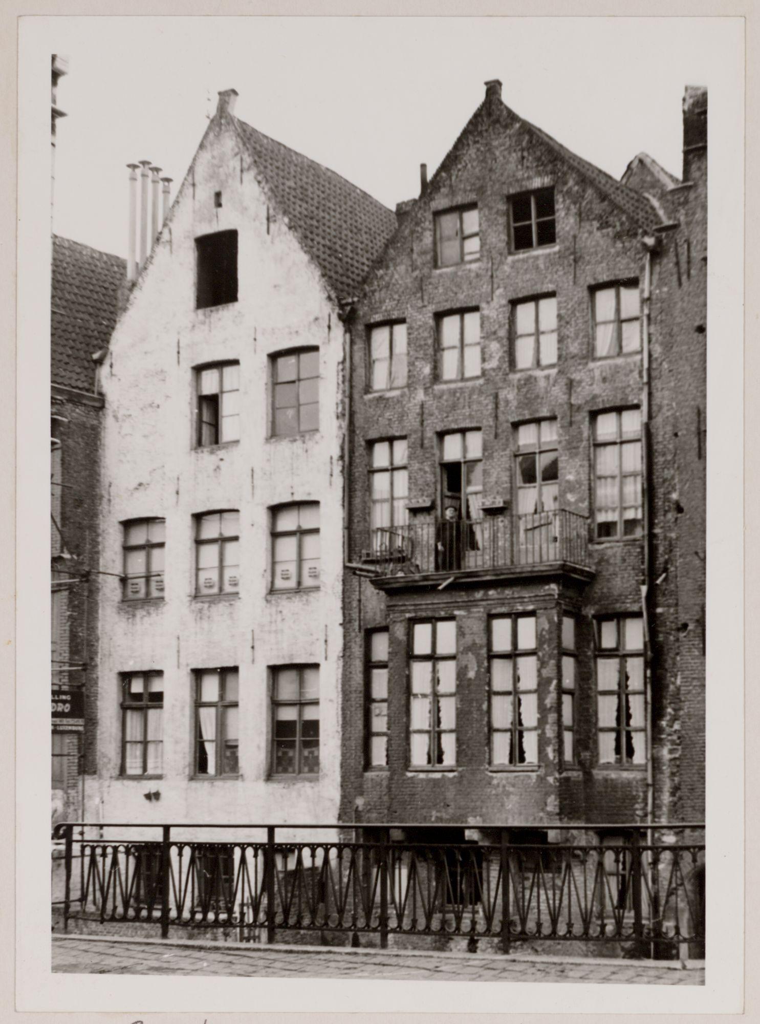 Gent: Huizen aan de Lieve
