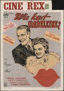 [Wer küßt Madeleine?]   Wie kust Madeleine?, Rex, Gent, 19 - 25 december 1941