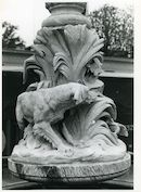 Gent: Oude Beestenmarkt: Détail fontein