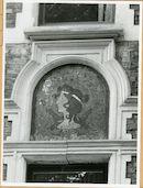 Gent: Fortlaan 20: gevelversiering: hoofd, 1979