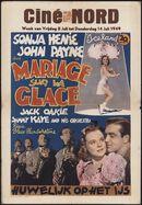 Iceland   Mariage sur la glace   Huwelijk op het ijs, Ciné Nord, Gent, 8 - 14 juli 1949