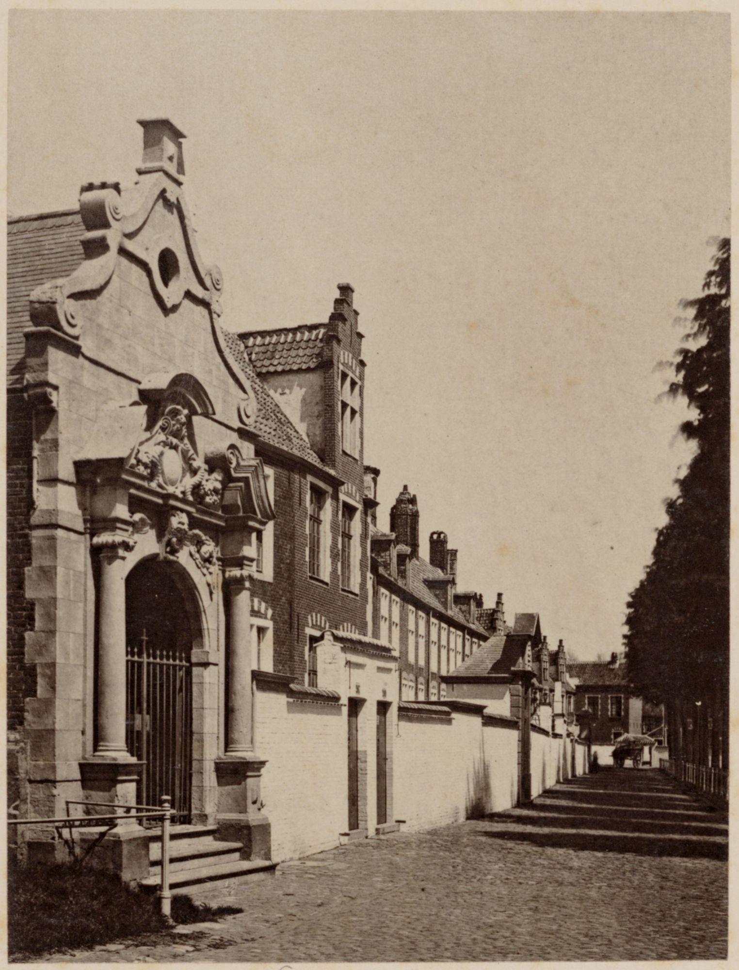 Gent: Klein Begijnhof Onze-Lieve-Vrouw Ter Hoyen