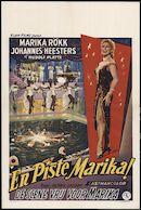 En piste Marika | De scene vrij voor Marika, Plaza, Gent, maart 1959