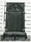Gent: Sleepstraat 145: Oorlogsgedenkplaat