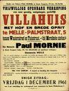 Vrjiwillige openbare verkoop van villahuis met hof en brede oprit te Melle, Palmstraat, nr.5 tussen Wautersdreef en Tuinstraat.- (bij Merelbeke station), Gent, 1 december 1961