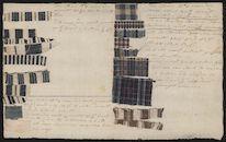 Stalen stof, weefsels in ruit en streep, met beschrijving, Lieven Bauwens, c. 1800