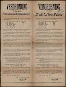 Verordnung ueber Faekalien und Latrinenduenger | Verordening betreffende Drekstoffen & Beer