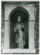 Sint-Amandsberg: Sint-Baafsstraat 46: Gevelbeeld, 1979