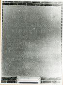 Gent: Henri Dunantlaan: Gedenksteen vervaardigd uit arduinsteen: Hoger instituut voor opvoedkundige wetenschappen,1979