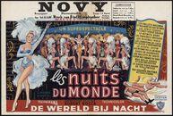Les nuits du monde | De wereld bij nacht, Novy, Gent, 8 - 14 september 1961