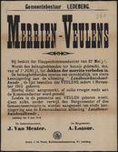 Gemeentebestuur Ledeberg, Merrien-Veulens.