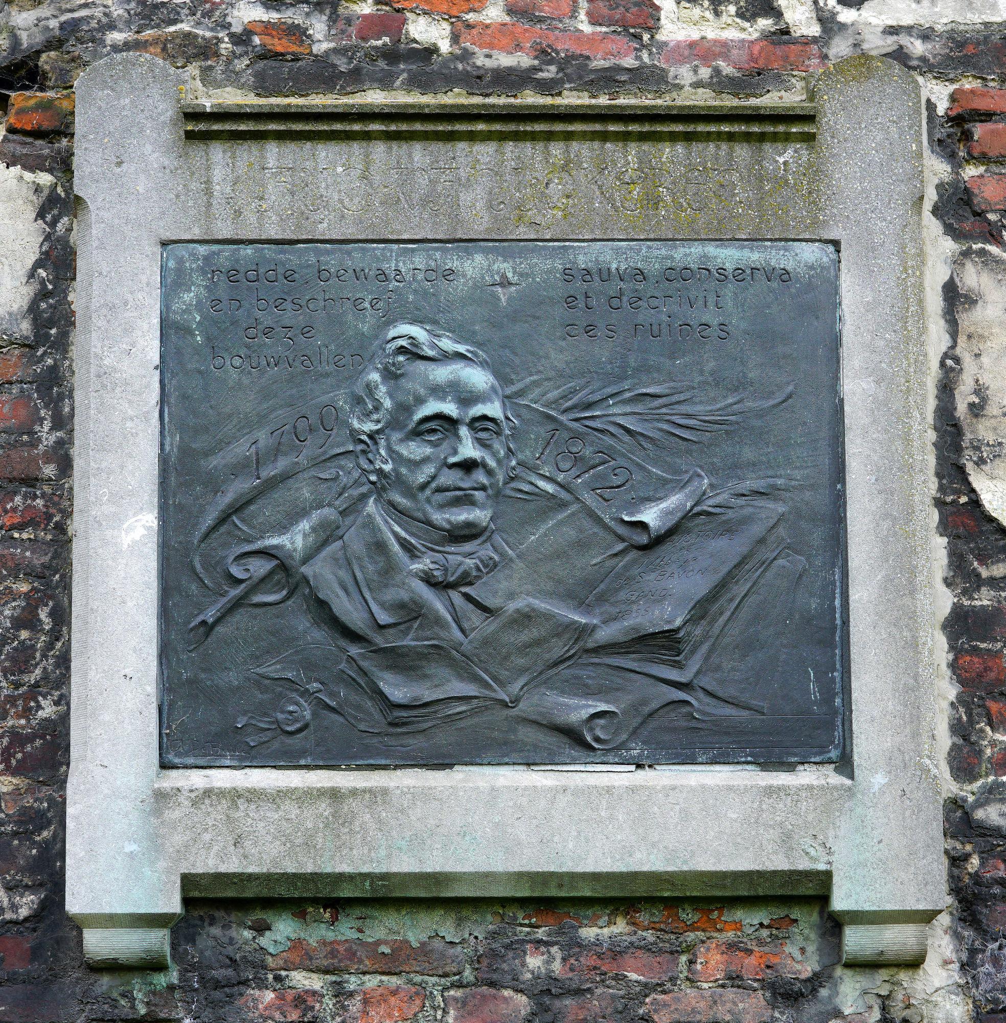 Gedenkplaat - August Van Lokeren
