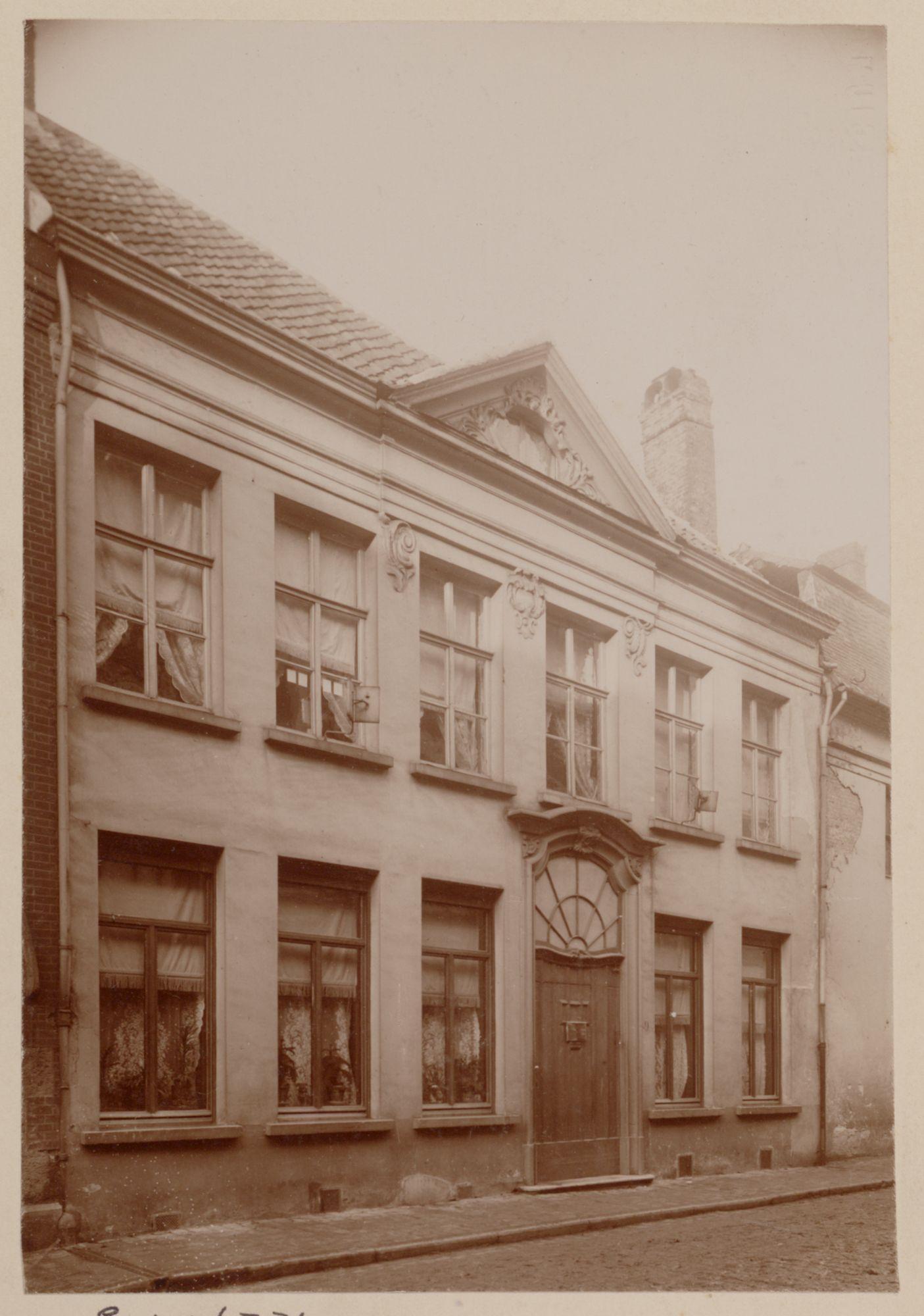 Gent: Huis De Ghellinck d'Elsegem, Lievestraat