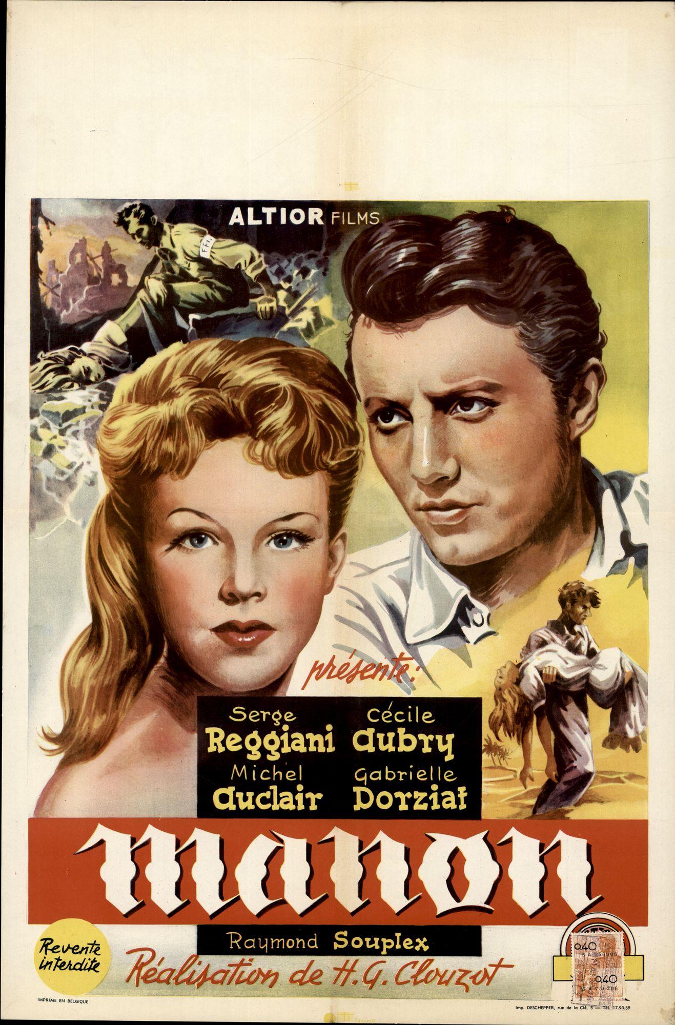 Manon, 1949