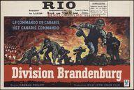 Division Brandenburg | Le commando de canaris | Het Canaris commando, Rio, Gent, 9 - 12 juni 1961