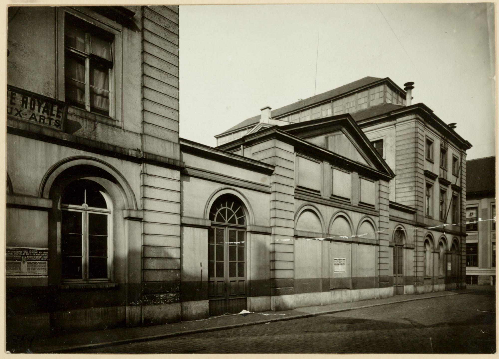 Gent: Academie voor Schone Kunsten, Academiestraat