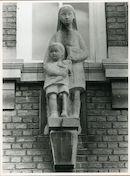 Gent: Tennisbaanstraat 74: Gevelbeeld