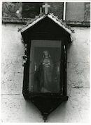 Gent: Raapstraat: Gevelkapel, 1980