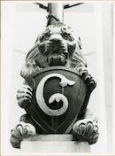 Gent: Kortrijksepoortstraat 273: Gevelbeeld,1979