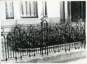 Gent: Onafhankelijkheidslaan 38: Hek, 1979