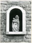 Gent: Mouterijstraat 15: Gevelbeeld, 1979