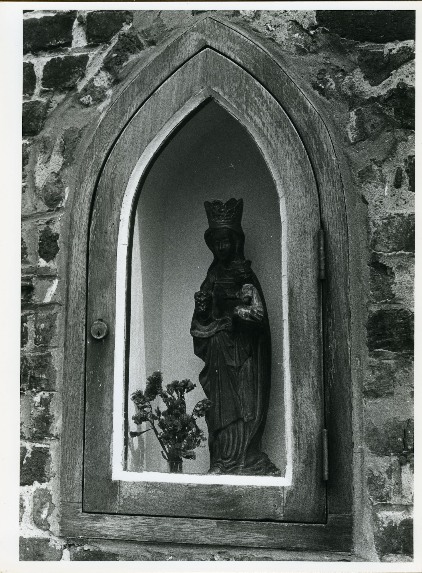 Sint-Amandsberg: Sint Beggaplein 80: Niskapel