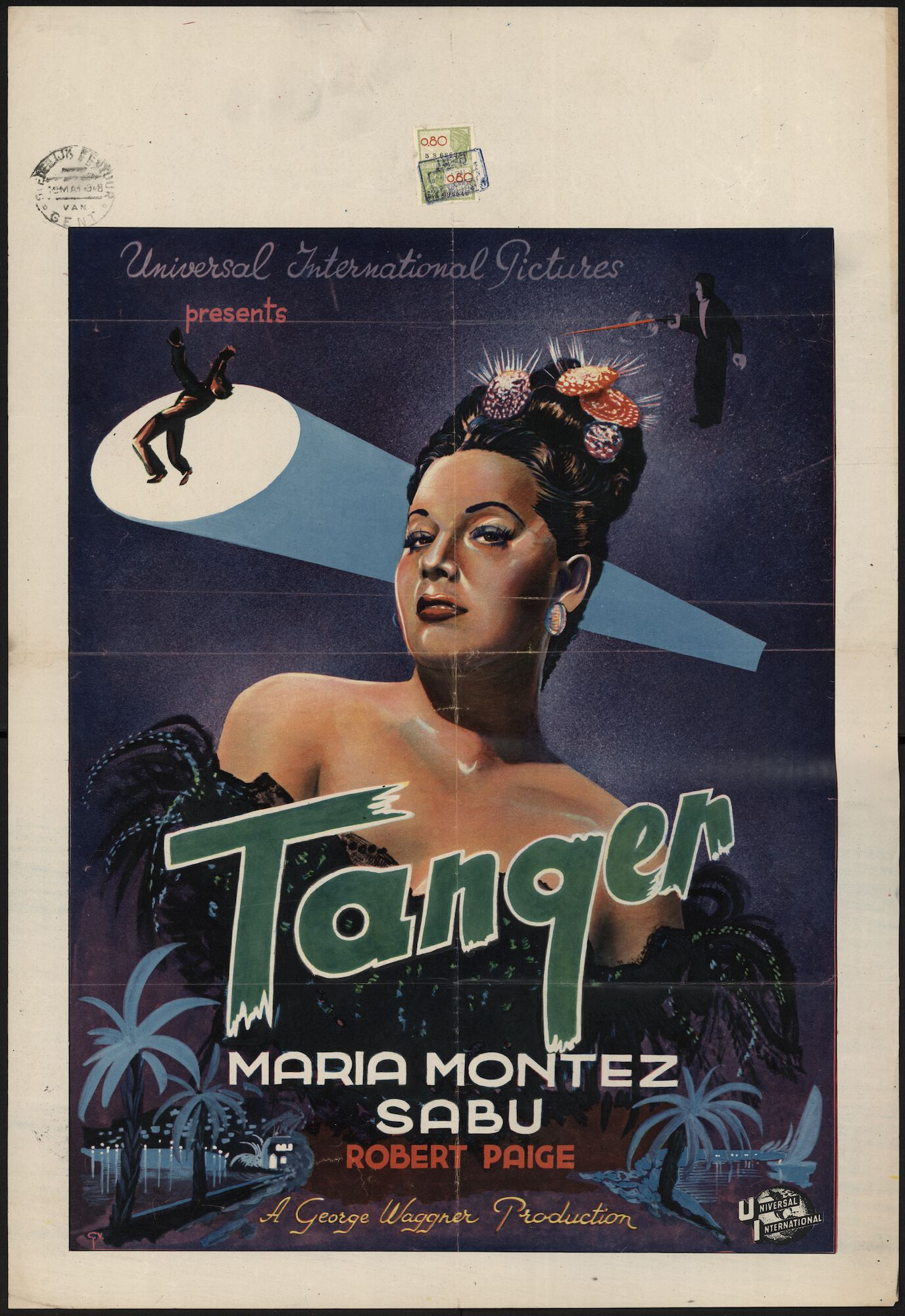 Tanger, Gent, mei 1948