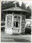 Gent: François Laurentplein: krantenkiosk, 1979