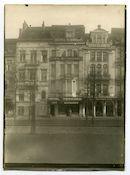 Gent: Koningin Maria Hendrikaplein: Militär-Maschinenamt Gent en hotel  Terminus, 1915-1916
