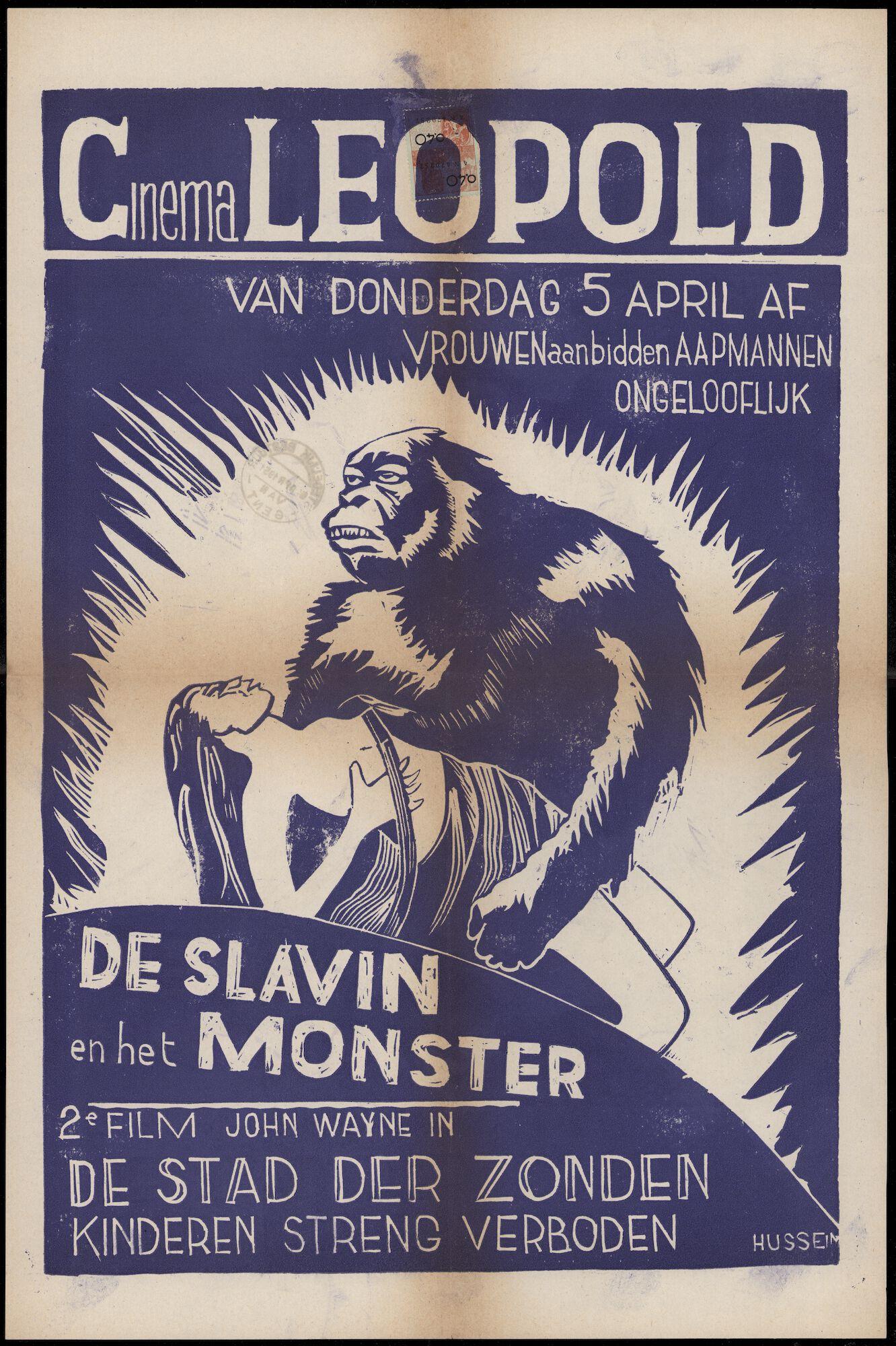 De slavin en het monster (film 1), De stad der zonden (film 2), Leopold, Gent, vanaf 5 april 1951