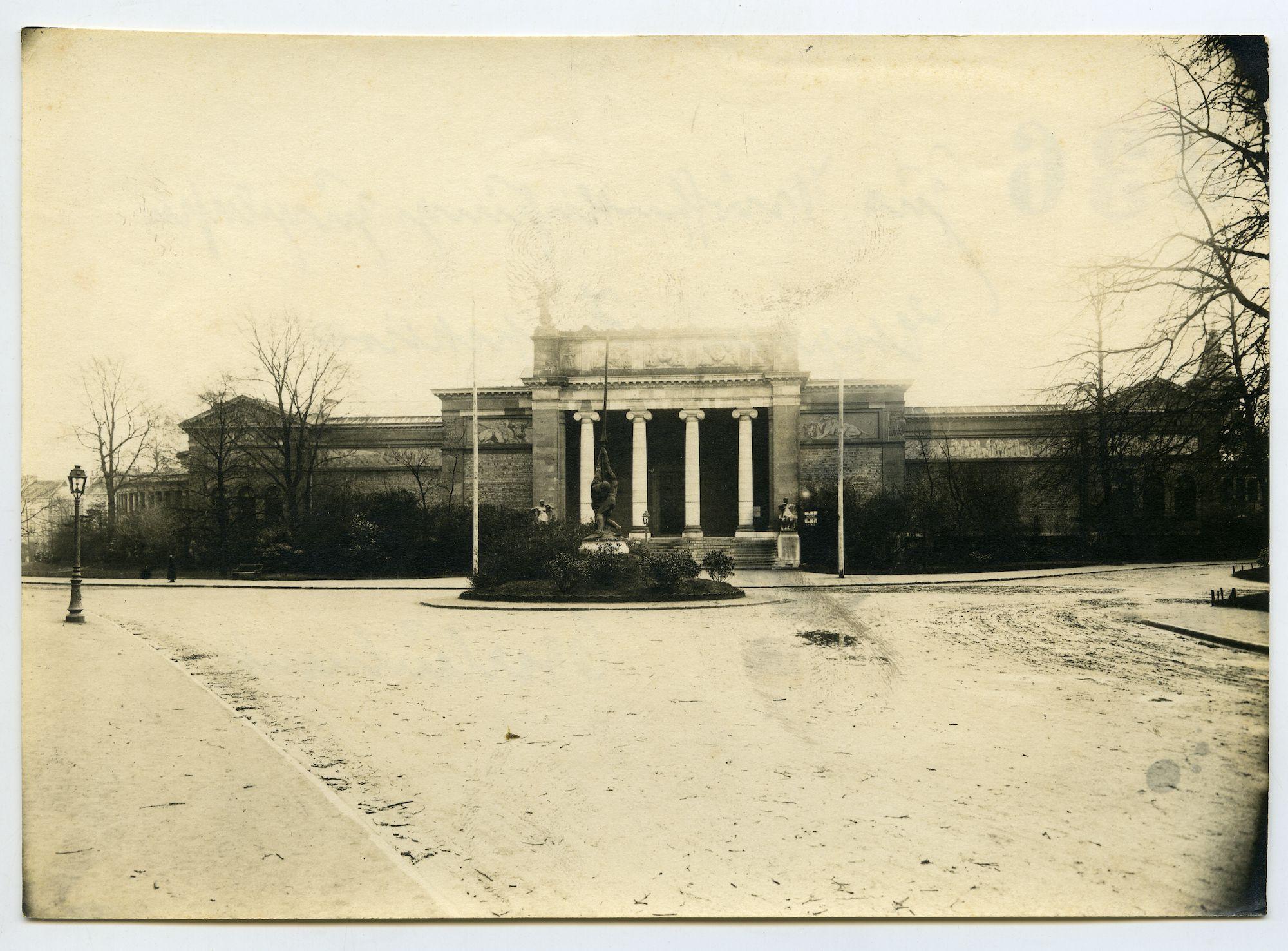 Gent: Fernand Scribedreef: Museum voor Schone Kunsten (MSK), 1915-1916