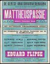 Mattheüspassie, Johann Sebastian Bach, Gentse Oratoriumvereniging, Gent, 1960