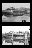 Gent: Oude Vismijn: zicht vanaf Grasbrug (Leie)