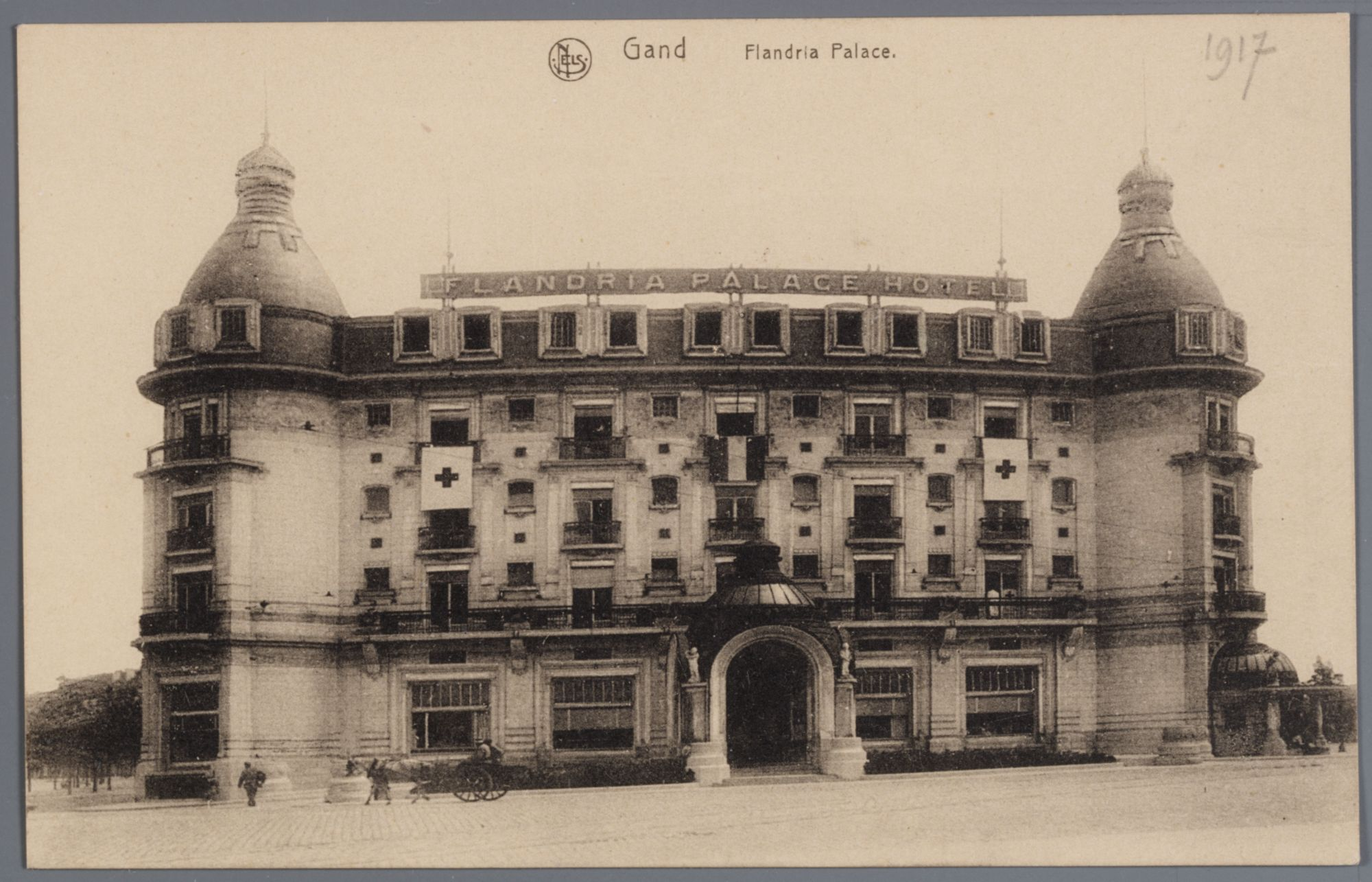 Gent: Koningin Maria Hendrikaplein: Flandria Palace Hotel
