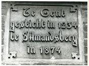 Sint-Amandsberg: Sint-Elisabethplein 67: Gedenkplaat