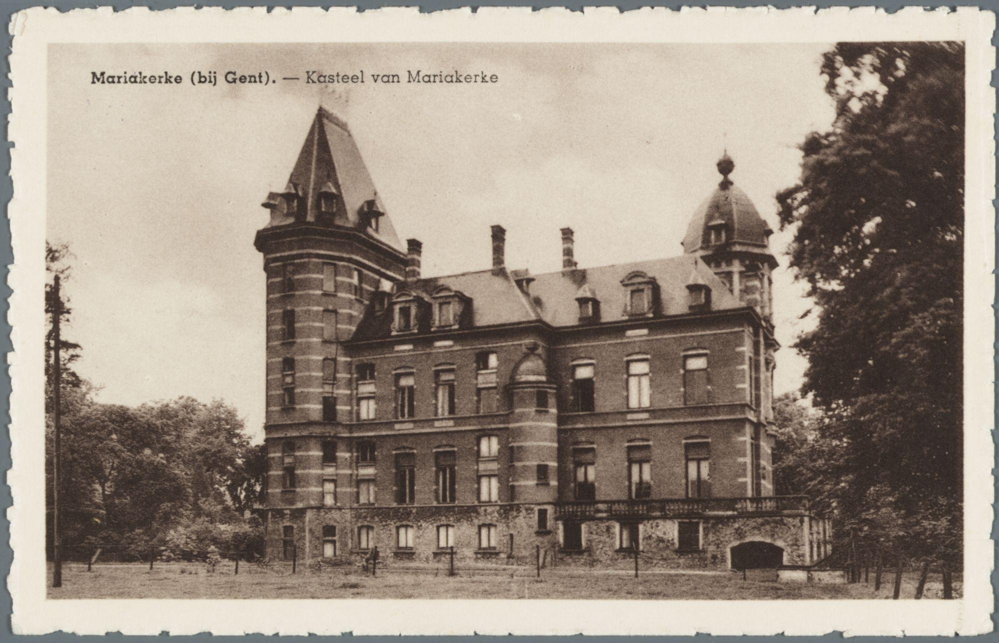 Mariakerke (bij Gent): kasteel Claeys-Bouüaert