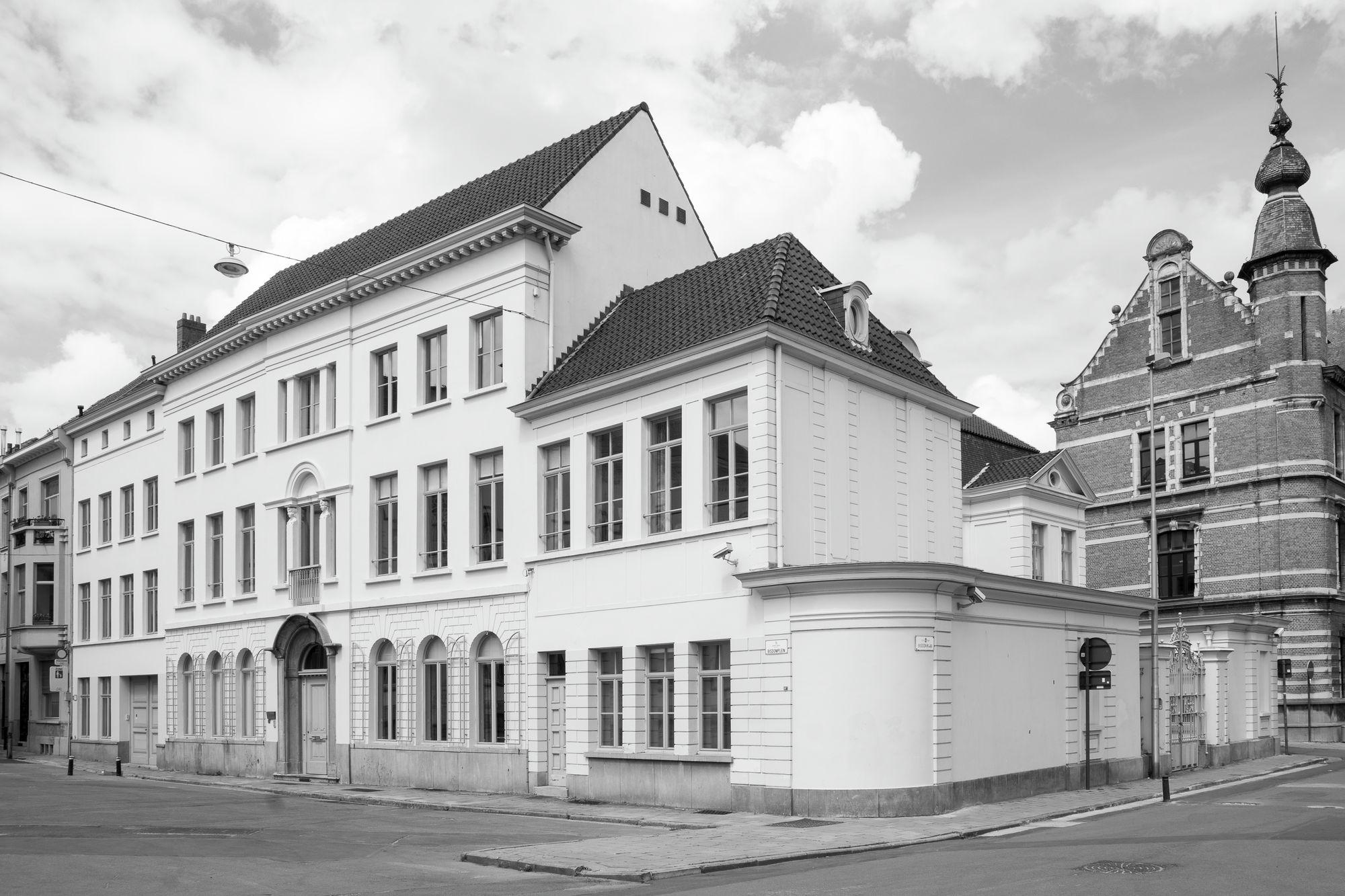 Gent: Bisdomplein, hoek Bisdomkaai: Hotel Hulin de Loo