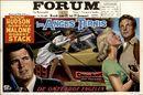 Les Anges Ternis   The Tarnished Angels   De Onteerde Engelen, Forum, Gent, 23 - 27 januari 1959